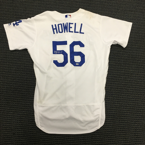Photo of LA Dodgers Foundation Auction: JP Howell Autographed Game-Used LA Dodger Jersey