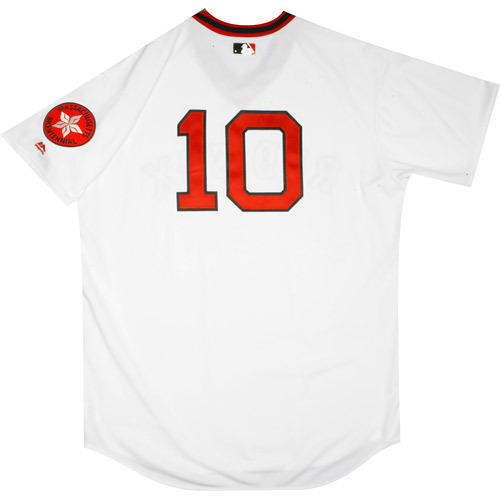 Photo of Boston Red Sox 1975 Throwback Complete Game-Used Uniform Set - Ryan Hanigan