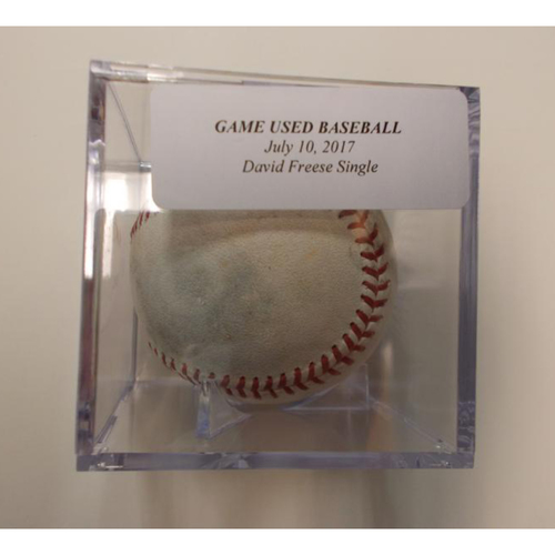 Photo of Game-Used Baseball: David Freese Single