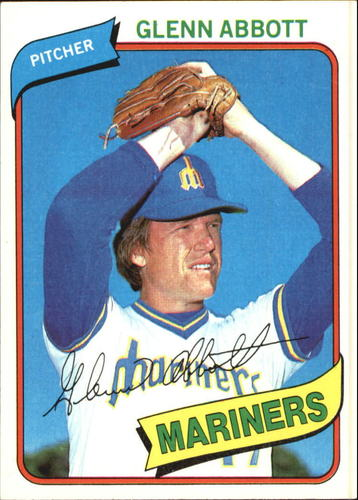 Photo of 1980 Topps #166 Glenn Abbott