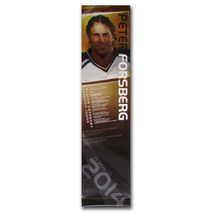 Peter Forsberg Class of 2014 Banner Once on Display at the Hockey Hall of Fame (Colorado Avalanche)