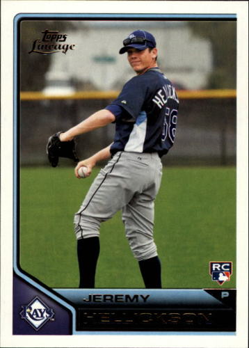 Photo of 2011 Topps Lineage #31 Jeremy Hellickson RC
