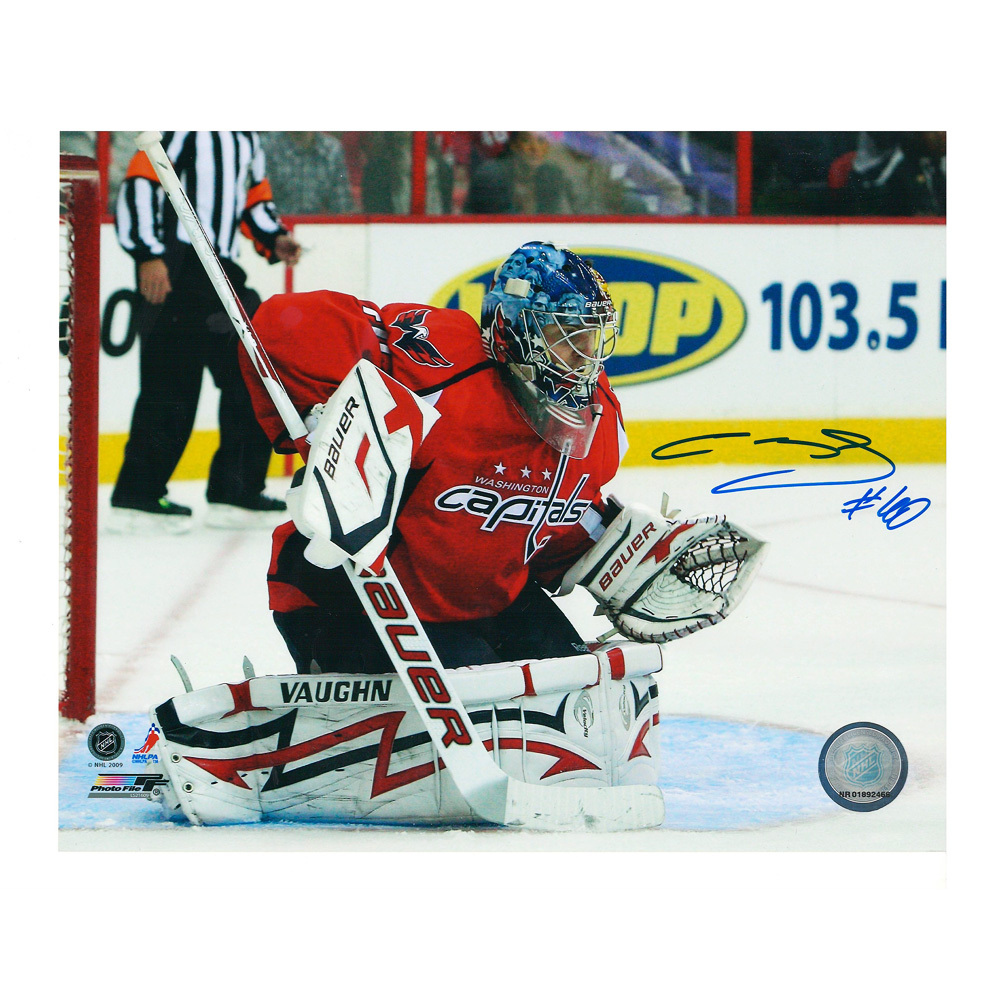SEMYON VARLAMOV Signed Washington Capitals 8 X 10 Photo - 70276