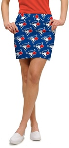 Toronto Blue Jays Ladies All Over Logo Skort by Loudmouth Golf