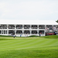 Photo of Golf with the Pros at the BMW International Open Pro-Am - click to expand.