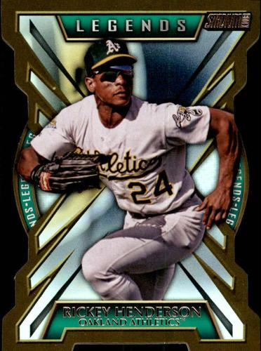 Photo of 2014 Stadium Club Legends Die Cut #LDC3 Rickey Henderson