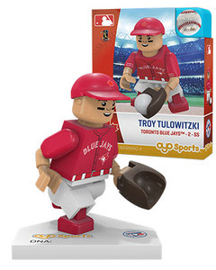 Toronto Blue Jays Troy Tulowitzki Red Alt Jersey Toy Figurine by OYO Sports
