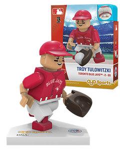 Toronto Blue Jays Troy Tulowitzki Red Alt Jersey Toy Figurine by OYO Sports