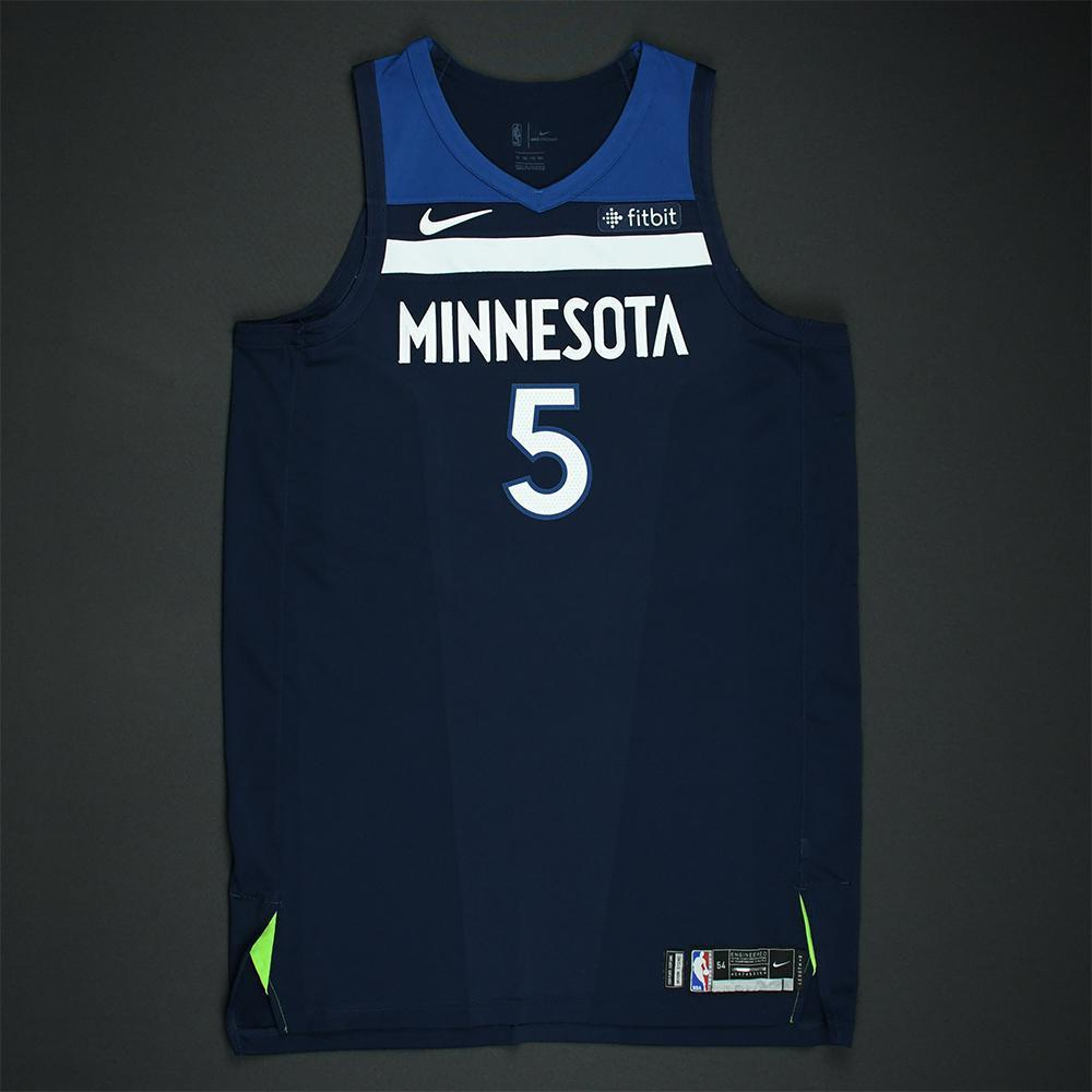 Gorgui Dieng - Minnesota Timberwolves - 2018 NBA Playoffs Game-Worn Jersey