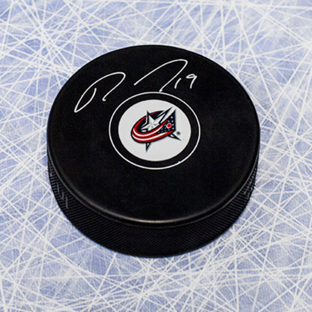 Ryan Johansen Columbus Blue Jackets Autographed Hockey Puck *Nashville Predators*