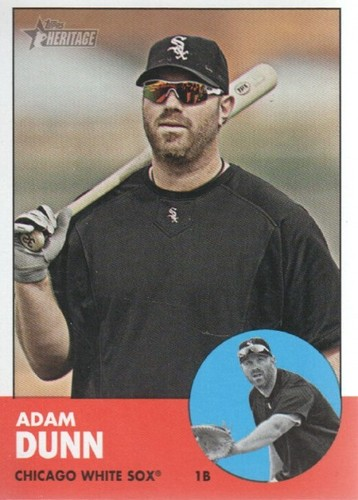 Photo of 2012 Topps Heritage #337 Adam Dunn