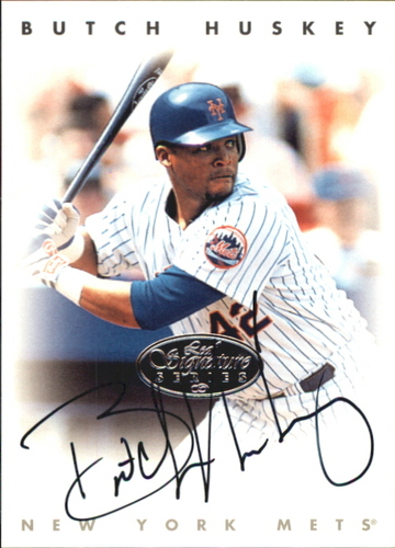 Photo of 1996 Leaf Signature Autographs Silver #113 Butch Huskey