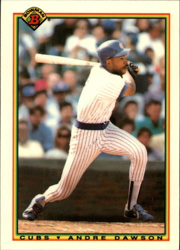 Photo of 1990 Bowman Tiffany #39 Andre Dawson