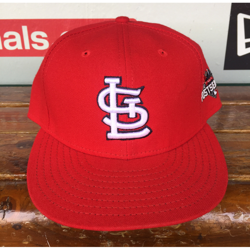Photo of Cardinals Authentics: Travis Tartamella Home Red 2015 Postseason Cap