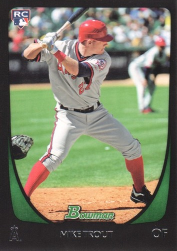 Photo of 2011 Bowman Draft #101 Mike Trout RC