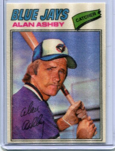 Photo of 1977 Topps Cloth Stickers #1 Alan Ashby