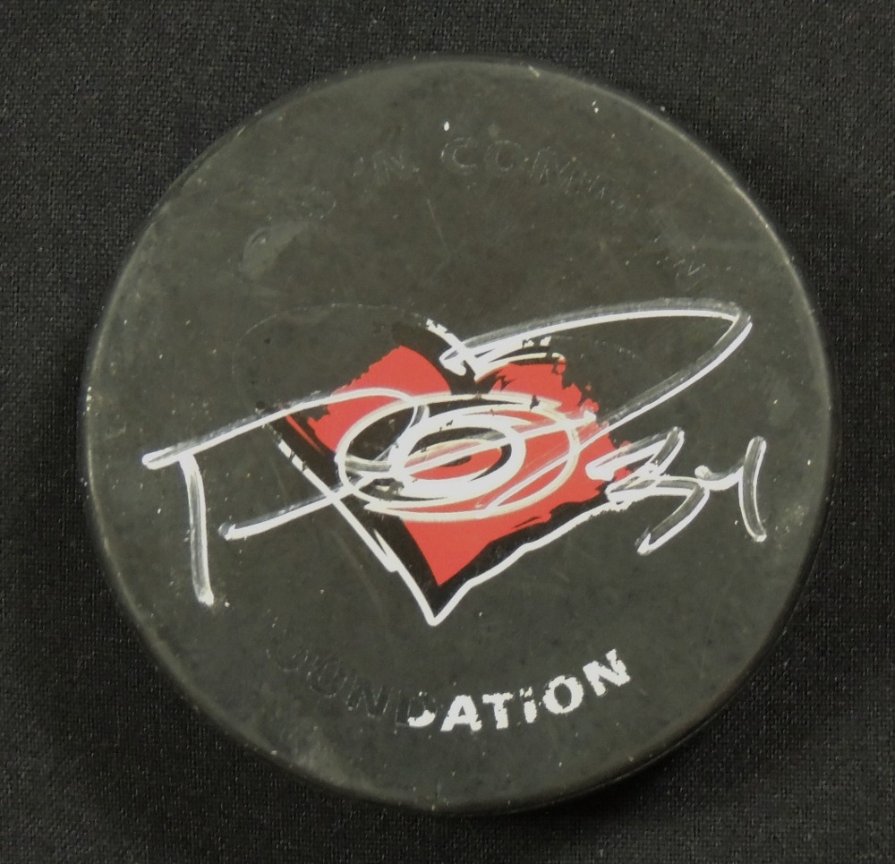 Phil Di Giuseppe #34 Autographed Puck