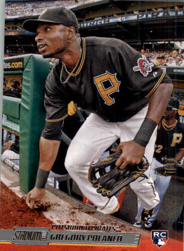 Photo of 2014 Stadium Club #45 Gregory Polanco  Rookie Card