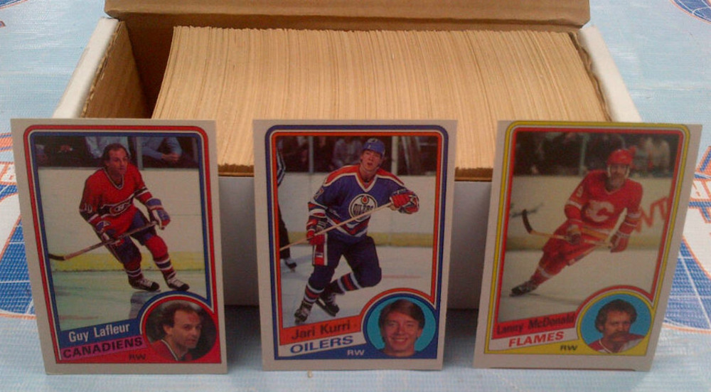 1984-85 OPC Partial Starter Set *OVER 300 NEAR MINT HOCKEY CARDS* *LAFLEUR, KURRI, MCDONALD, ETC*