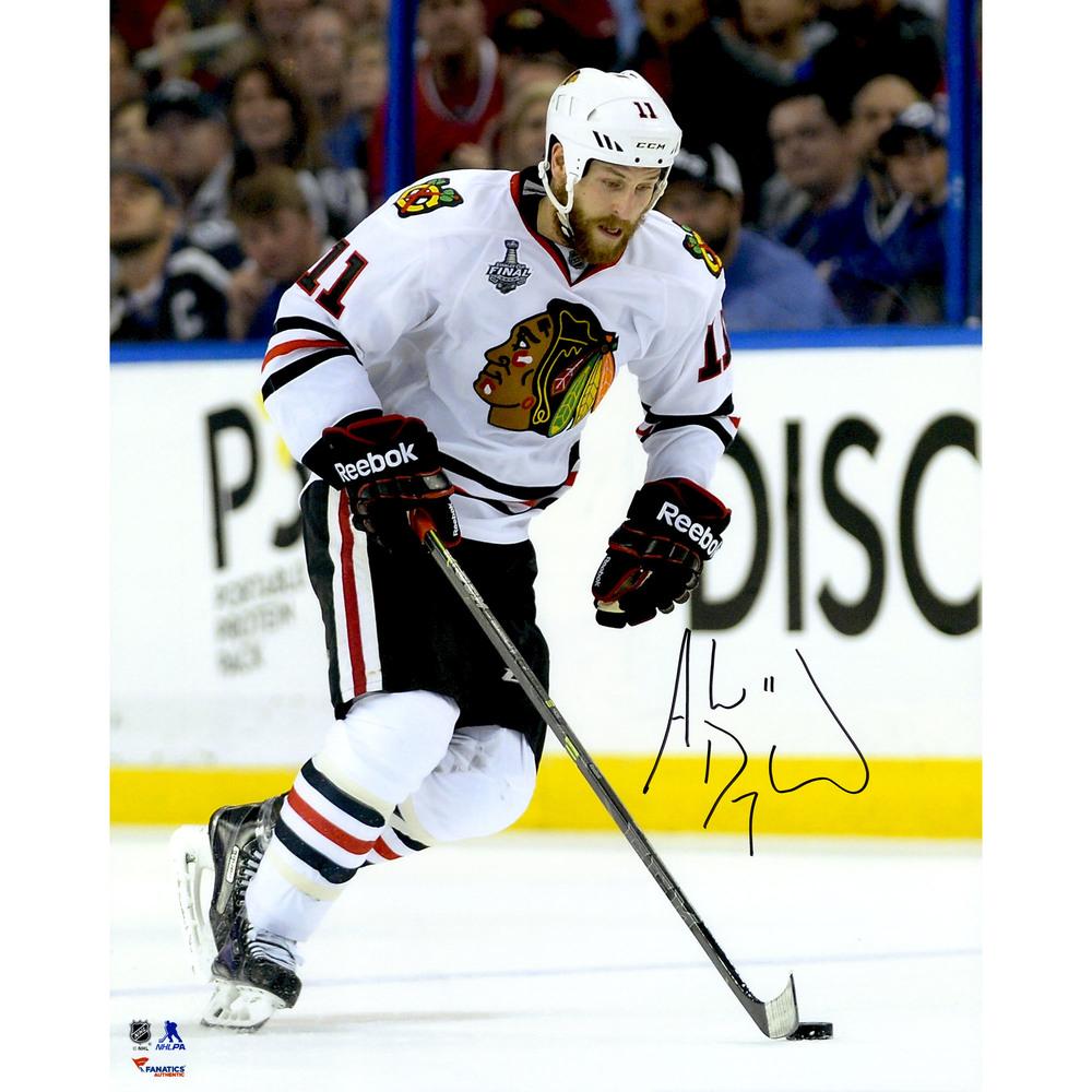 Andrew Desjardins Chicago Blackhawks 2015 Stanley Cup Champions Autographed 16