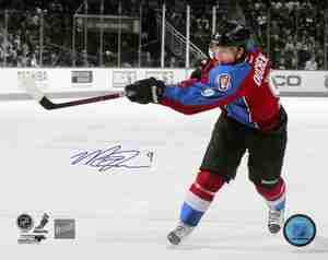 Matt Duchene - Signed 8x10 Colorado Avalanche Burgundy Slapshot Photo