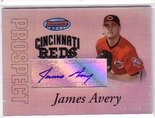 Photo of 2007 Bowman's Best Prospects #BBP41 James Avery AU
