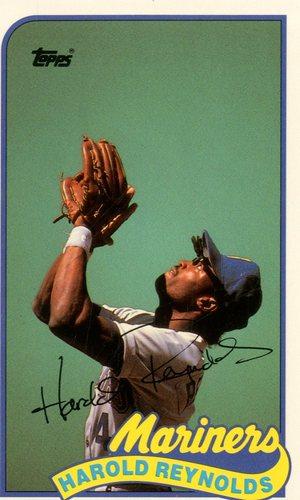 Photo of 1989 Topps Baseball Talk/LJN #143 Harold Reynolds