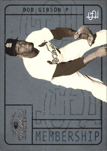 Photo of 2004 Donruss Classics Membership #6 Bob Gibson