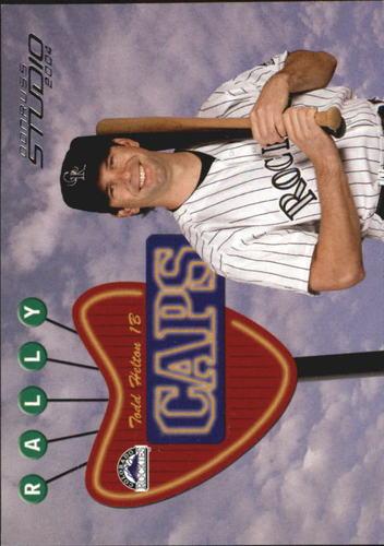 Photo of 2004 Studio Rally Caps #36 Todd Helton