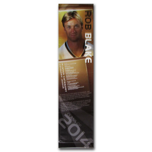 Rob Blake Class of 2014 Banner Once on Display at the Hockey Hall of Fame (Los Angeles Kings)