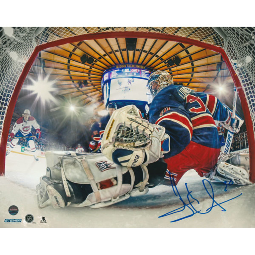 2018 NHL All-Star - Henrik Lundqvist Autographed 8X10 Photo