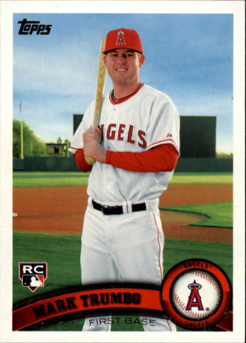 Photo of 2011 Topps #57 Mark Trumbo (RC)
