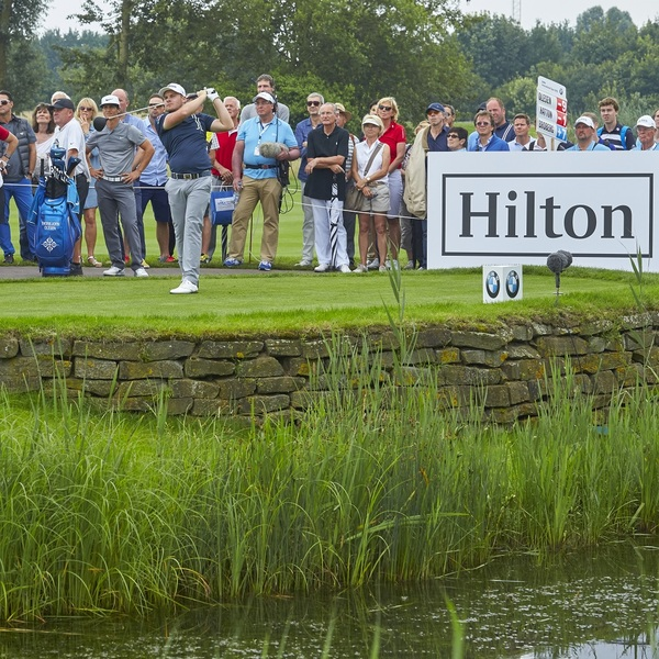 Click to view Golf with the Pros at the BMW International Open Pro-Am.