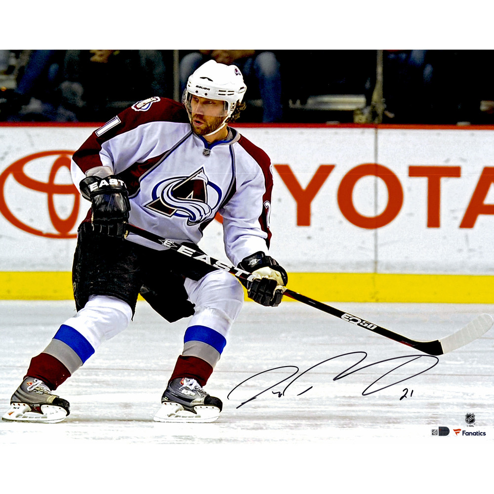 Peter Forsberg Colorado Avalanche Autographed 16