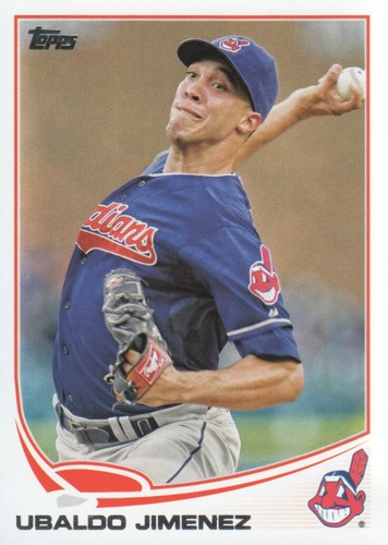 Photo of 2013 Topps #394 Ubaldo Jimenez