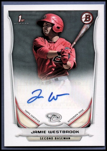 Photo of 2014 Bowman Prospect Autographs #PAJW Jamie Westbrook