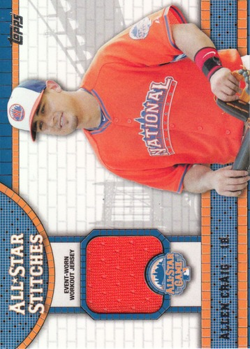 Photo of 2013 Topps Update All Star Stitches #AC Allen Craig