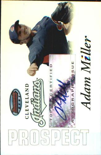 Photo of 2007 Bowman's Best Prospects #BBP44 Adam Miller AU