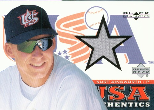 Photo of 2000 Black Diamond Rookie Edition #141 Kurt Ainsworth USA RC