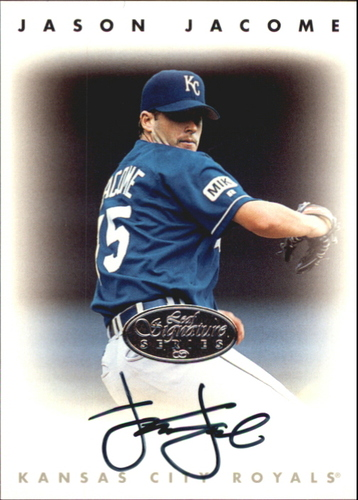 Photo of 1996 Leaf Signature Autographs Silver #115 Jason Jacome