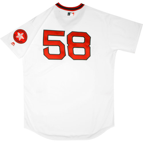 Photo of Boston Red Sox 1975 Throwback Complete Game-Used Uniform Set - Dana LeVangie