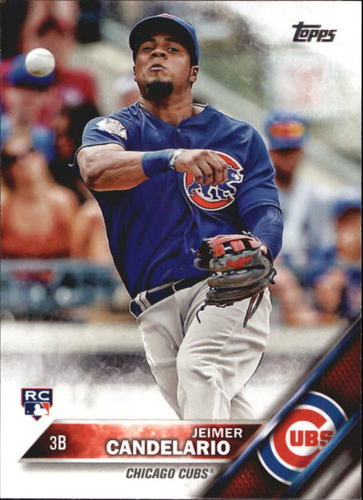 Photo of 2016 Topps Update #US81 Jeimer Candelario RC