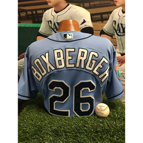 Photo of Autographed Jersey: Brad Boxberger