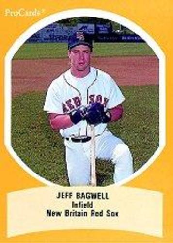 Photo of 1990 Eastern League All-Stars ProCards #EL40 Jeff Bagwell