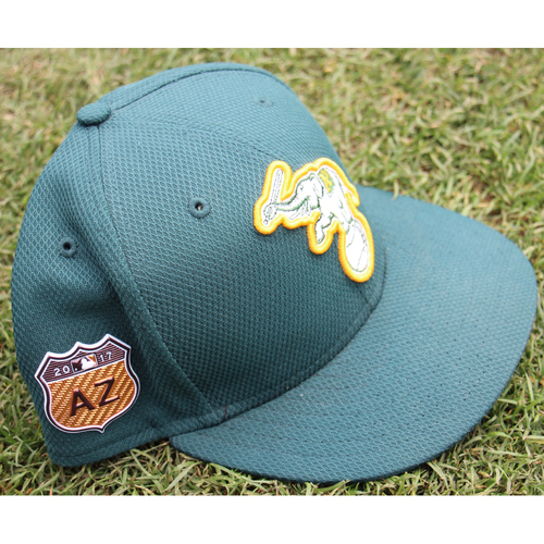Photo of Bob Melvin 2017 Team-Issued Spring Training Hat
