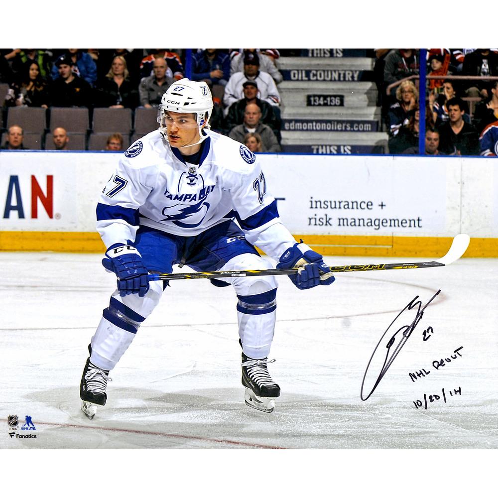 Jonathan Drouin Tampa Bay Lightning Autographed 16
