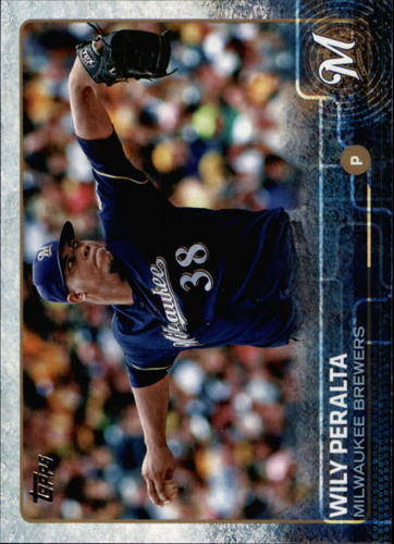 Photo of 2015 Topps #672 Wily Peralta