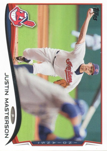 Photo of 2014 Topps #507 Justin Masterson