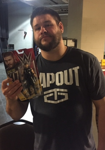 Photo of Kevin Owens SIGNED Series 58 Figure