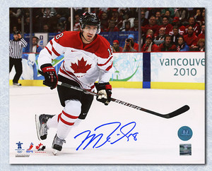 Mike Richards Team Canada Autographed 2010 Olympic 8x10 Photo